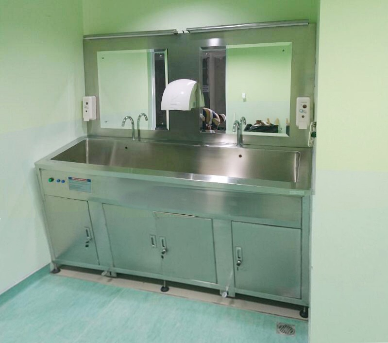 Proyek pengadaan scrub station uv sterilizer 2 person di RSKM Padang Eye Center