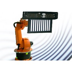 Fully automated, robot-based painting of complex parts with ATENSOR LS1 technology LPS 8005.T