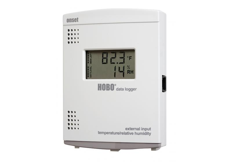 HOBO External Temperature/RH LCD Data Logger - U14-002