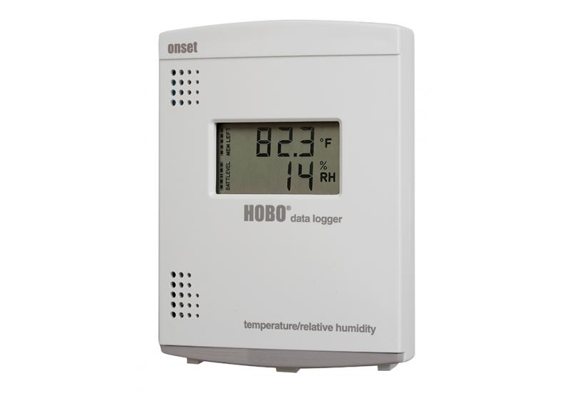 HOBO LCD - Temperature/Relative Humidity (RH) Data Logger - U14-001